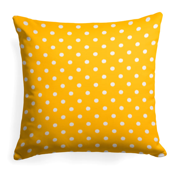 Coastal Pineapple (Dottie Pineapple) Square Pillow 18.5