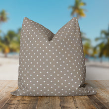 "Load image into Gallery viewer, Coastal Sand (Dottie Sand) Square Pillow 25"" x 25"" - Shop Baby Slings & wraps, Baby Bedding & Home Decor !"