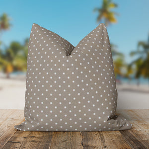 "Coastal Sand (Dottie Sand) Square Pillow 25"" x 25"" - Shop Baby Slings & wraps, Baby Bedding & Home Decor !"