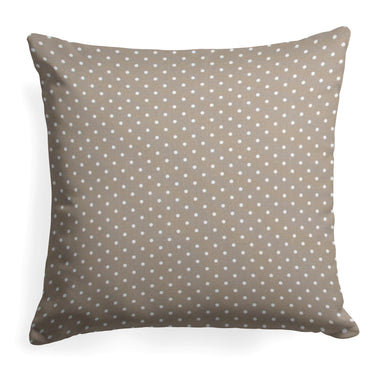 Coastal Sand (Dottie Sand) Square Pillow 18.5
