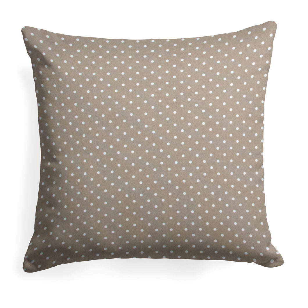 Coastal Sand (Dottie Sand) Square Pillow 25