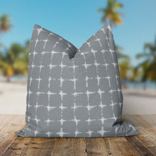 "Load image into Gallery viewer, Sea Island Grey (Neptune Grey) Square 18.5"" x 18.5"" - Shop Baby Slings & wraps, Baby Bedding & Home Decor !"