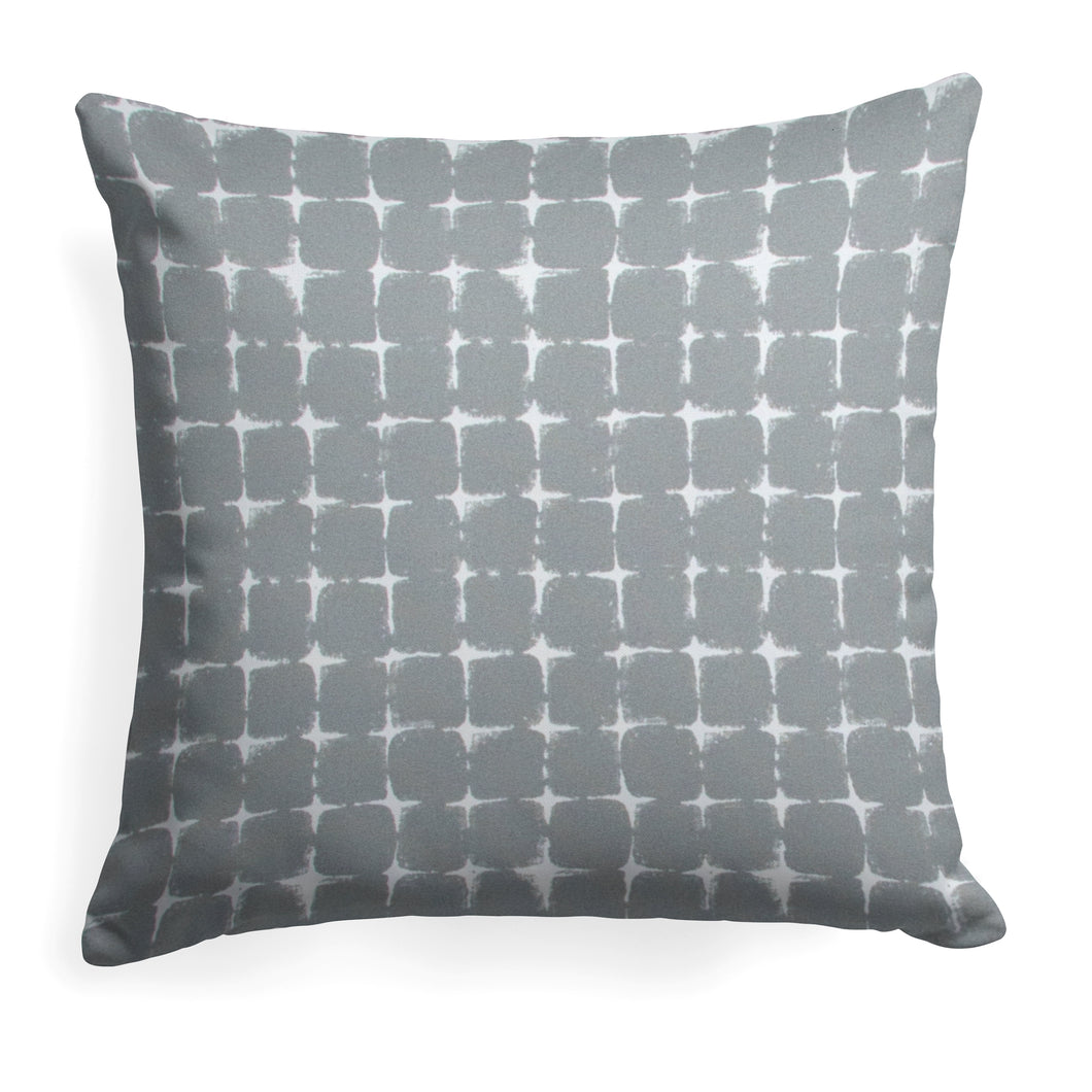 Sea Island Grey (Neptune Grey) Square Pillow 25