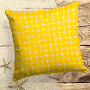 "Sea Island Yellow (Neptune Yellow) Square Pillow 18.5"" x 18.5"" - Shop Baby Slings & wraps, Baby Bedding & Home Decor !"