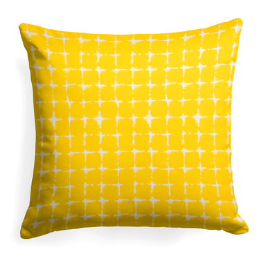 Sea Island Yellow (Neptune Yellow) Square Pillow 18.5
