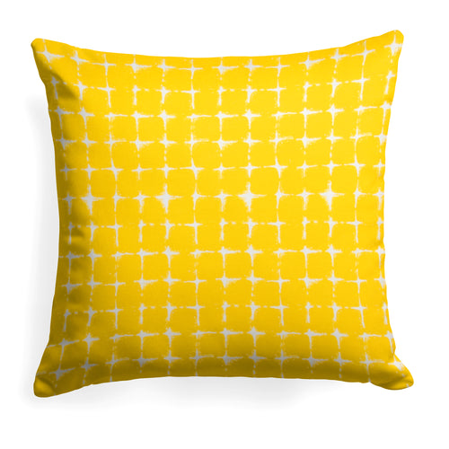 Sea Island Yellow (Neptune Yellow) Square Pillow 28