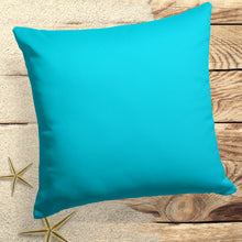 "Load image into Gallery viewer, Lagoon (Aqua Solid) Square Pillow 28"" x 28"" - Shop Baby Slings & wraps, Baby Bedding & Home Decor !"