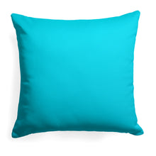 "Load image into Gallery viewer, Lagoon (Aqua Solid) Square Pillow 25"" x 25"" - Shop Baby Slings & wraps, Baby Bedding & Home Decor !"