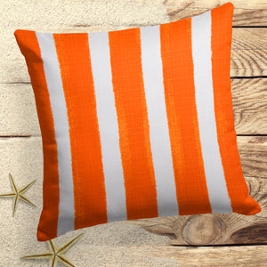 "Caravan Orange(Cabana Orange) Square Pillow 28"" x 28"" - Shop Baby Slings & wraps, Baby Bedding & Home Decor !"