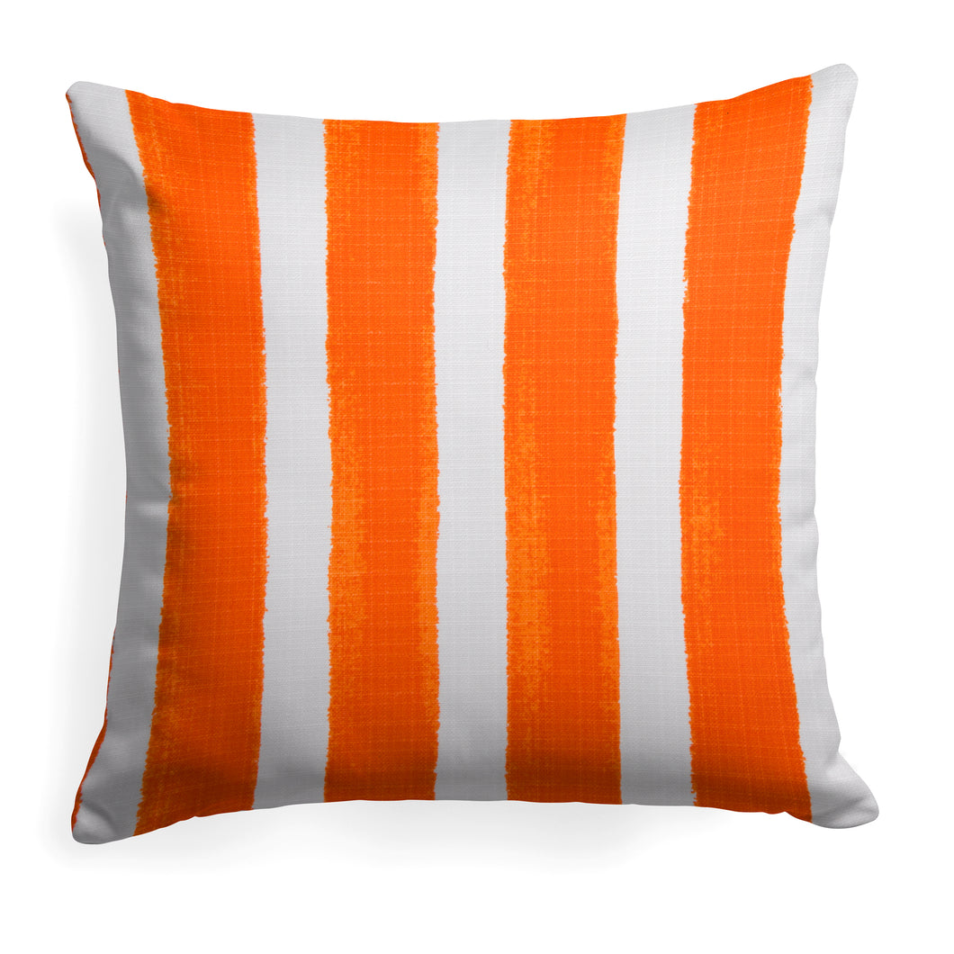 Caravan Orange(Cabana Orange) Square Pillow 18.5