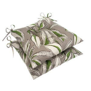 "Panama - Tan Tufted Seat Cushion 2 Pk (Tftd-ties) 20""x20""x5"" - Shop Baby Slings & wraps, Baby Bedding & Home Decor !"