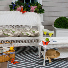 "Load image into Gallery viewer, Panama - Tan Wicker Loveseat Cushion 44""x19""x5"" - Shop Baby Slings & wraps, Baby Bedding & Home Decor !"