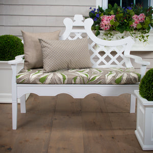 "Panama - Tan Bench/Porch Swing Cushion 45""x18""x3"" - Shop Baby Slings & wraps, Baby Bedding & Home Decor !"