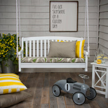 "Load image into Gallery viewer, Panama - Tan Bench/Porch Swing Cushion 45""x18""x3"" - Shop Baby Slings & wraps, Baby Bedding & Home Decor !"