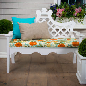 "Havana Bench/Porch Swing Cushion 45""x18""x3"" - Shop Baby Slings & wraps, Baby Bedding & Home Decor !"