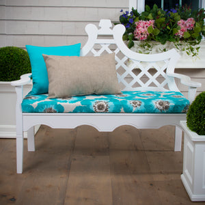 "Laguna Bench/Porch Swing Cushion 45""x18""x3"" - Shop Baby Slings & wraps, Baby Bedding & Home Decor !"