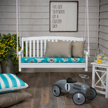"Load image into Gallery viewer, Laguna Bench/Porch Swing Cushion 45""x18""x3"" - Shop Baby Slings & wraps, Baby Bedding & Home Decor !"