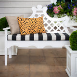 "Tuxedo Stripe  Bench/Porch Swing Cushion 45""x18""x3"" - Shop Baby Slings & wraps, Baby Bedding & Home Decor !"