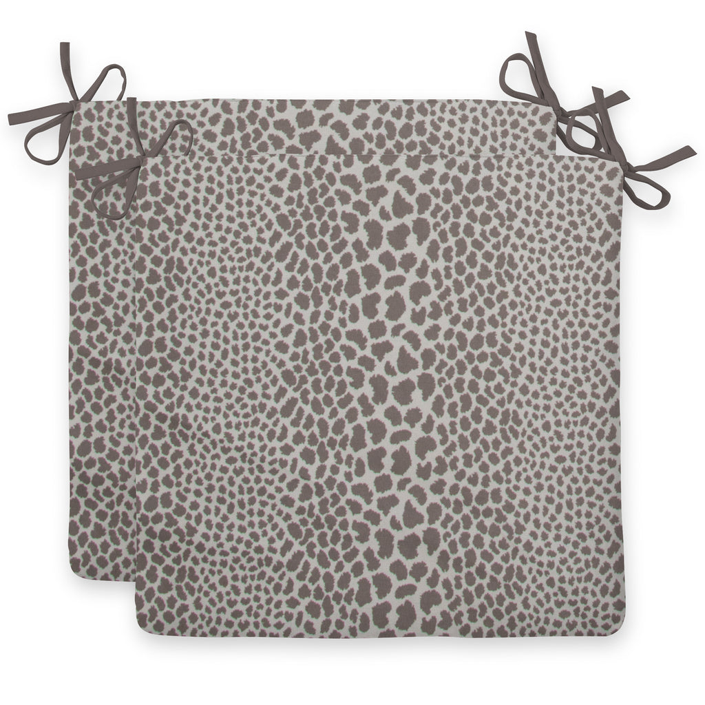 "Don't Be Catty - Grey Seat Cushion Sq 2Pk (Slab) 18.5""x16""x3"" - Shop Baby Slings & wraps, Baby Bedding & Home Decor !"