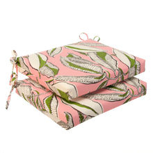 "Load image into Gallery viewer, Panama - Pink  Seat Cushion Sq 2Pk (Slab) 20""x20""x3"" - Shop Baby Slings & wraps, Baby Bedding & Home Decor !"