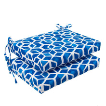 "Load image into Gallery viewer, Cubed - Blue Seat Cushion Sq 2Pk (Slab) 18.5""x16""x3"" - Shop Baby Slings & wraps, Baby Bedding & Home Decor !"