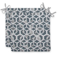 "Load image into Gallery viewer, Cubed - Grey Seat Cushion Sq 2Pk (Slab) 18.5""x16""x3"" - Shop Baby Slings & wraps, Baby Bedding & Home Decor !"