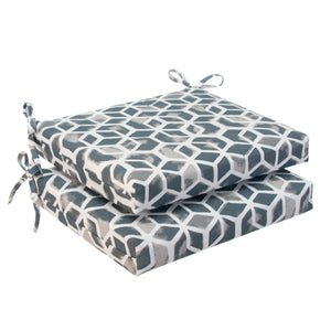 "Cubed - Grey Seat Cushion Sq 2Pk (Slab) 18.5""x16""x3"" - Shop Baby Slings & wraps, Baby Bedding & Home Decor !"
