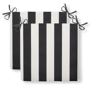 "Tuxedo Stripe (Lux) Seat Cushion Sq 2Pk (Slab) 18.5""x16""x3"" - Shop Baby Slings & wraps, Baby Bedding & Home Decor !"