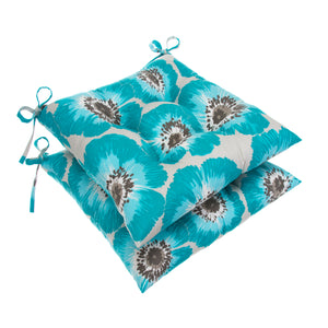 "Laguna Tufted Seat Cushion 2 Pk (Tftd-ties) 20""x20""x5"" - Shop Baby Slings & wraps, Baby Bedding & Home Decor !"