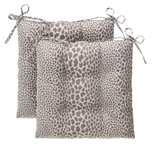 "Don't Be Catty - Grey Tufted Seat Cushion 2 Pk (Tftd-ties) 20""x20""x5"" - Shop Baby Slings & wraps, Baby Bedding & Home Decor !"