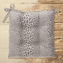 "Load image into Gallery viewer, Don't Be Catty - Grey Tufted Seat Cushion 2 Pk (Tftd-ties) 19""x18.5""x5"" - Shop Baby Slings & wraps, Baby Bedding & Home Decor !"