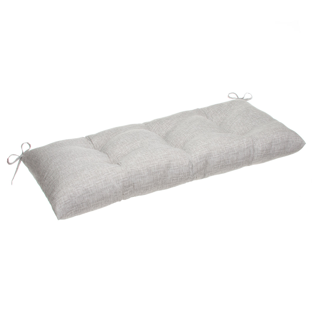 Portico (Storm) Tufted Loveseat Cushion (w ties) 44