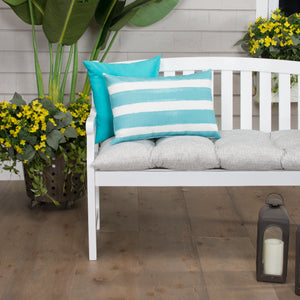 "Portico (Storm) Tufted Loveseat Cushion (w ties) 44""x18.5""x6"" - Shop Baby Slings & wraps, Baby Bedding & Home Decor !"