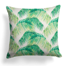 Load image into Gallery viewer, Tahitian Green (Tropico Green) Square Pillow 28 x 28 (1pk) - Shop Baby Slings & wraps, Baby Bedding & Home Decor !