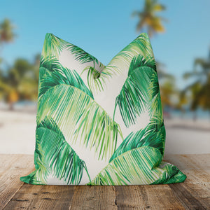 Tahitian Green (Tropico Green) Square Pillow 28 x 28 (1pk) - Shop Baby Slings & wraps, Baby Bedding & Home Decor !
