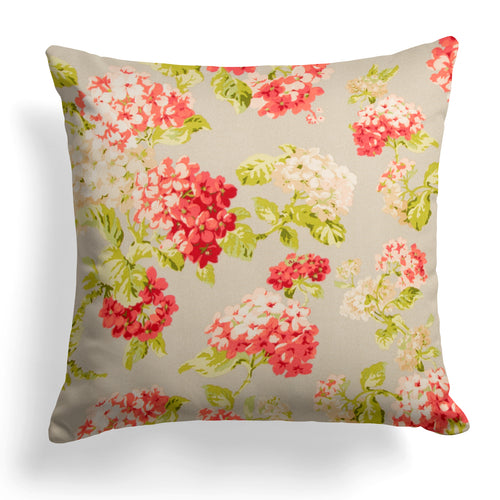 Summer Garden (May Flowers) Square Pillow 18.5