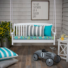 "Load image into Gallery viewer, Caravan Grey (Cabana Grey) Lumbar Pillow 22"" x 12"" - Shop Baby Slings & wraps, Baby Bedding & Home Decor !"