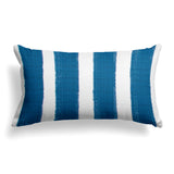 "Caravan Navy (Cabana Navy) Lumbar Pillow 22"" x 12"" - Shop Baby Slings & wraps, Baby Bedding & Home Decor !"