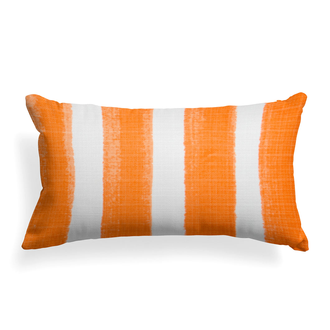Caravan Orange(Cabana Orange) Lumbar Pillow 22