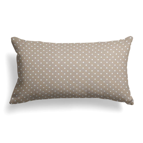 Coastal Sand (Dottie Sand) Lumbar Pillow 22