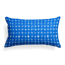 "Load image into Gallery viewer, Sea Island Blue (Neptune Blue) Lumbar Pillow 22"" x 12"" - Shop Baby Slings & wraps, Baby Bedding & Home Decor !"
