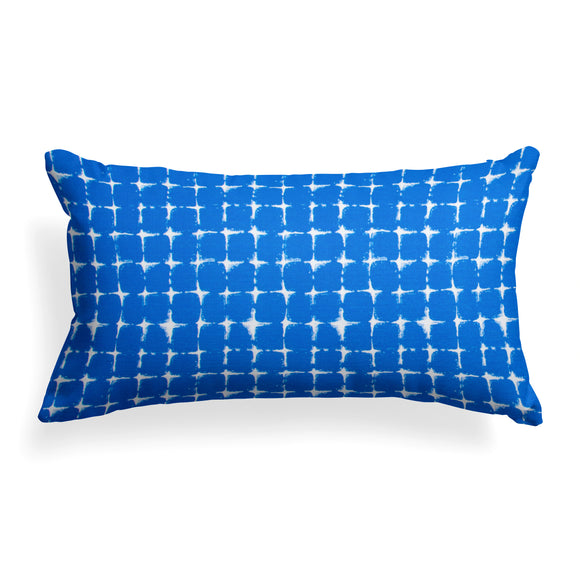 Sea Island Blue (Neptune Blue) Lumbar Pillow 22