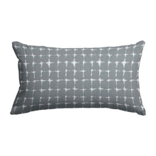 "Load image into Gallery viewer, Sea Island Grey (Neptune Grey) Lumbar Pillow 22"" x 12"" - Shop Baby Slings & wraps, Baby Bedding & Home Decor !"