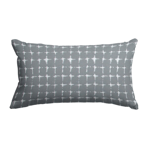 Sea Island Grey (Neptune Grey) Lumbar Pillow 22