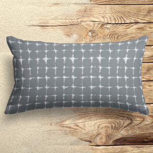 "Sea Island Grey (Neptune Grey) Lumbar Pillow 22"" x 12"" - Shop Baby Slings & wraps, Baby Bedding & Home Decor !"