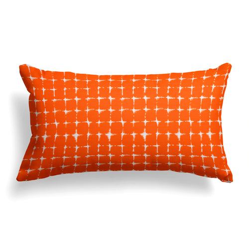 Sea Island Orange (Neptune Orange) Lumbar Pillow 22