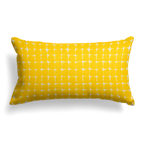 Sea Island Yellow (Neptune Yellow) Lumbar Pillow 22