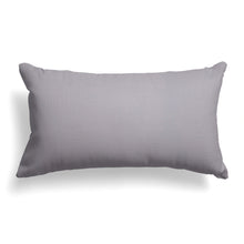 "Load image into Gallery viewer, Baldwin (Grey Solid) Lumbar Pillows 22"" x 12"" - Shop Baby Slings & wraps, Baby Bedding & Home Decor !"