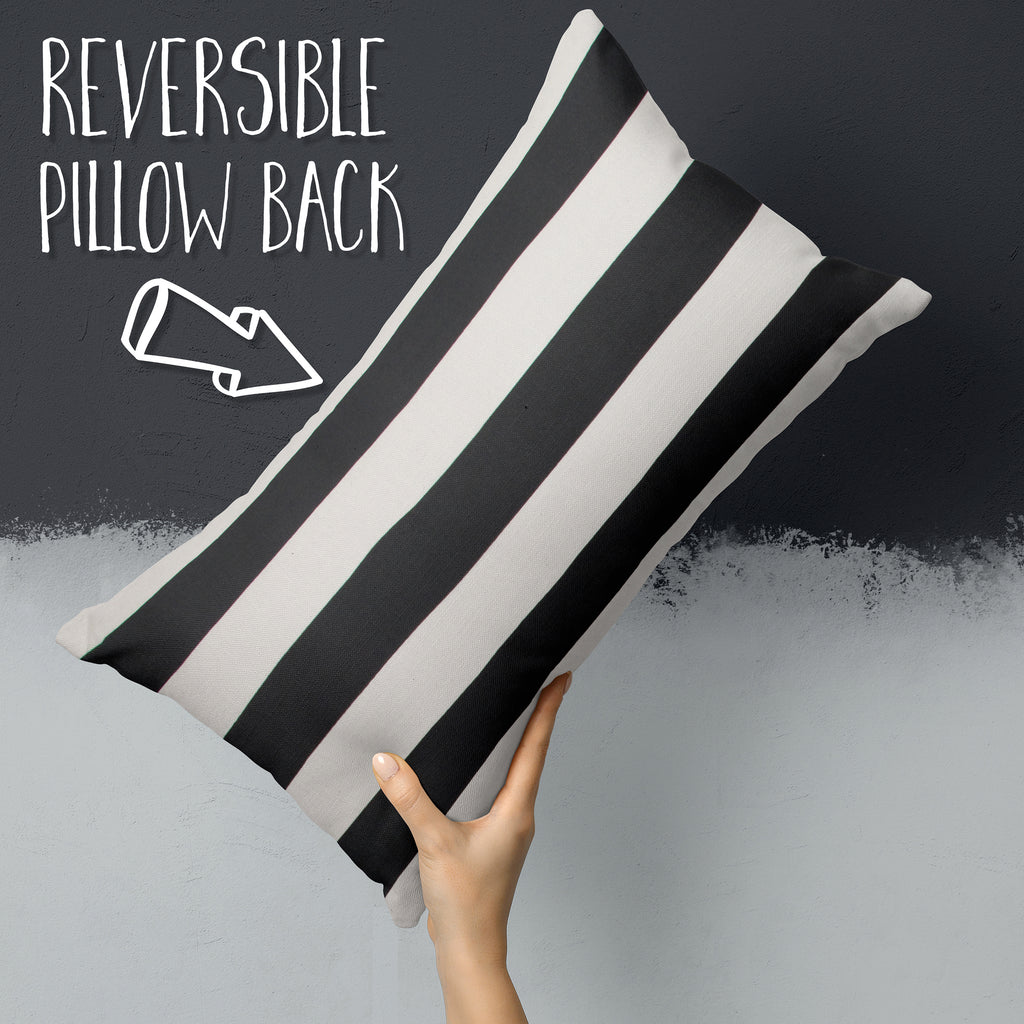 Tuxedo Stripe (Lux) Lumbar Pillows 22 x 12 (1 pk) - Shop Baby Slings & wraps, Baby Bedding & Home Decor !