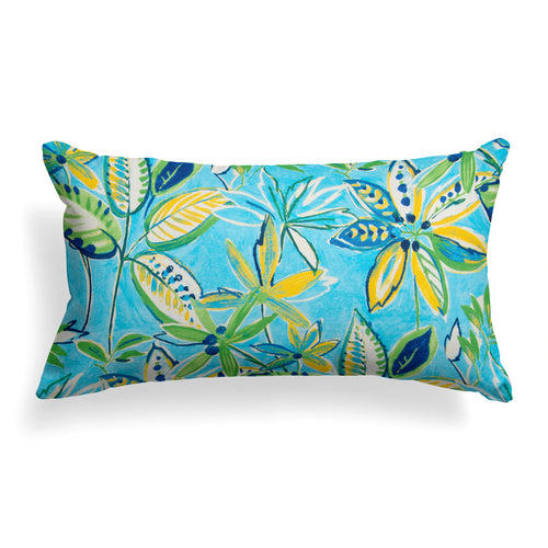 Flower Garden (Flora) Lumbar Pillow 22